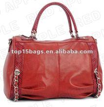 New fashion drape red bags handbags europe