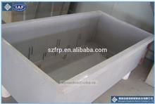Resistencia a rayos uv de fibra de vidrio de cría de peces tanques/grp electrobath
