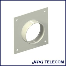one hole cable entry plate, wall feeder through plate