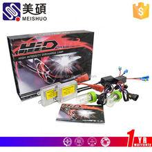 Meishuo slim car lamp kits xenon h7 15000k hid kit
