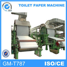 Hot new products for 2014, small model 787mm Durable tissue paper making machine