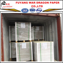 400g Grade AAA C1S recycled duplex board paper in sheets