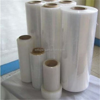 high quality machine & manual polythelene packing film pe stretch film