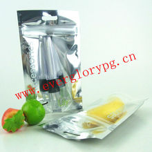 Custom Printing Recycle Aluminium Poly Bags For Comestic Packing