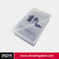 custom wholesale pvc clear plastic shoe box plastic box