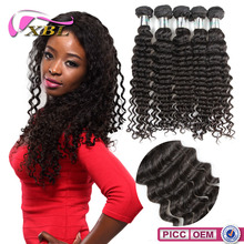 2015 XBL Beautiful Factory Price7A Grade Chemical Free Remy Hair Extension Pieces