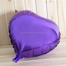 Large imports of aluminum balloons wholesale gourmet lovers heart balloon gift ideas