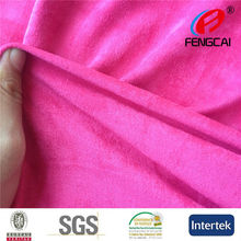 2015 Hot Sell China Produced double brushed spandex suede fabric for women's clothing