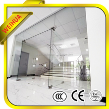 best price 4mm 5mm 6mm 8mm 10mm 12mm tempered glass inserts door