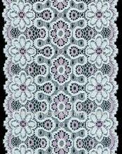 jacquard elastic lace