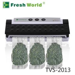Kitchen food vacuum food sealer easy to use , stop the microorganisms from growing vacuum sealer