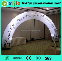 Commercial Portable led inflatable light arch for sale