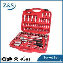 New design 94pcs 1/2&3/8&1/4 dr.Metric socket wrench set & bit socket set