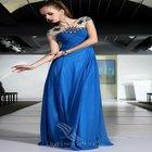 Dorisqueen ( doris ) um - linha de moda chegadas nova venda quente azul royal plus size vestido de coquetel