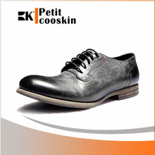 Business dress lace up men leather shoe all kinds of men shoes