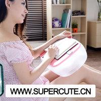 Mini Inflatable plastic folding sofa tablet/ ipad/ laptop/ computer adjustable table laptop