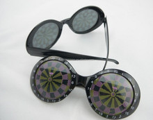 Dart Board Party Glasses and sunglasses For Dance and Festival Party Supplies Decoration