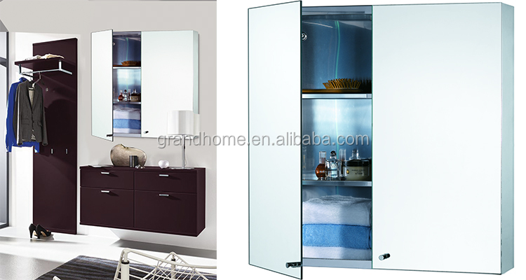 mirror stainless steel bathroom cabinet buy stainless steel bathroom