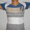 BlackAofeite Neoprene Posture Support Corrector Body Back Pain Belt