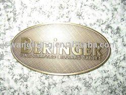 Copper/aluminum/plastic/stainless steel mark