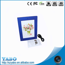 New Creative gift ! 7 inch LCD Mini electronic Digital Photo Frame hidden camera digital picture frame support 32G Memory