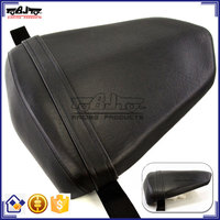 BJ-SC02-R6/06 For Yamaha YZF 600 R6 Black Leather Motorcycle Rear Seat Cover Cushion Pillion