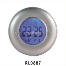 2015 hot sell round digit alarm clock