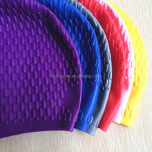 Cheap best sell hot sale silicone rubber swimming caps