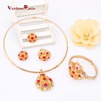 WesternRain New Arrival High Quality Balls African Beads Jewelry Fashion,Dubai Popular Summer Saudi Jewelry Set