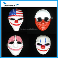 Wholesale Carnival party mask movie Plastic payday mask