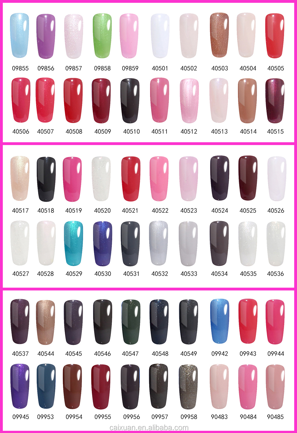 Color Uv Color Gel Nail Polish Led Gel Polish Colors Acrylic Nail