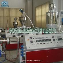 granules single screw extruder ppr pipe machine