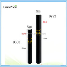 2015 Top selling 200 puffs disposable e cigarette DS80 VS DS92 cbd hemp oil with wholesale price