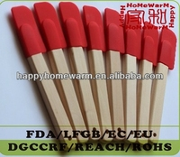 Small Wooden Silicone Spatulas With PP/NYLON/METAL/WOODEN Handle Utensils Are Easy To Care For And Look Great In Any Kitchen