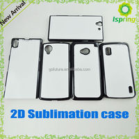 for samsung ace 4 note 5 edge 2d sublimation cover case