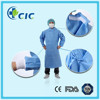 Disposable SMS raglan sleeve surgical gown for doctor in operating room