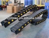weight bearing and over length robot cable drag chain