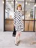 Max.C London long sleeves spot lady fashion dress