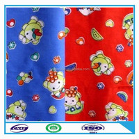 high quality 100% polyester french terry fleece fabric