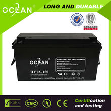 opzv opzs pzs 12v 150ah professional deepcycling lead acid battery for solar UPS Inverter with high quality