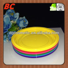 new style round shape plastic dinner plate for party