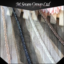 Wholesale Beaded Ribbon Trim, Organza lace trim, Garment Trim Types for Garment