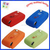 car key silicone case car key remote covers key holder for peugeot