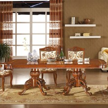 Hot sale hight quality 10 seater solid wood dining table,wood dining talbe,home furniture