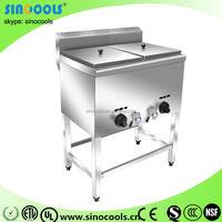 Stainless Steel Industrial Table Top Gas Air fryer