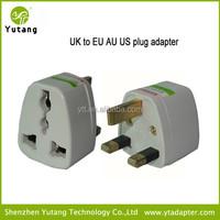 Good Price World Travel UK to EU/AU/BS adapter plug UK Conversion plug