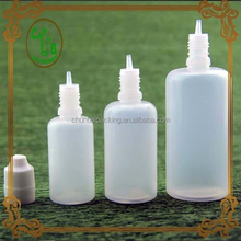 Women makeup personal care 10ml pet plastic dropper bottles