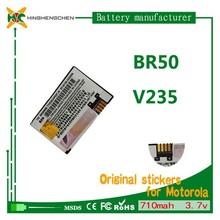gb t18287 cell phone battery BR50 for Motorola Prolife 300 Prolife 500/Razr V3/Razr V3c