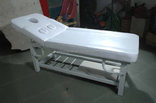 Good quality breast hole metal massage bed for beauty salon furniture MM-20889