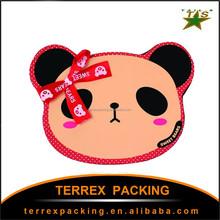 2015 creative cartoon panda DIY handmade chocolate birthday gift packing box